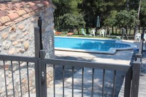 cerradura de seguridad piscina