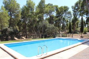 Foto piscina masia villalonga