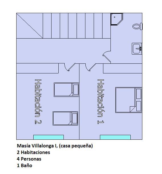 plano casa pequeña