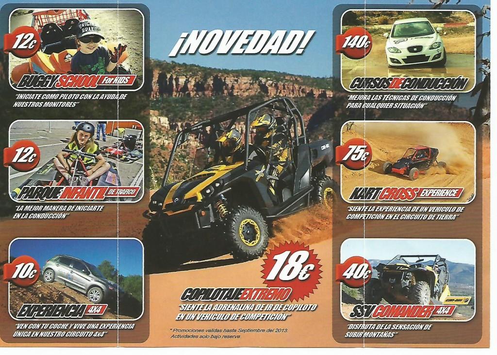 CIRCUITO KARTS 4X4
