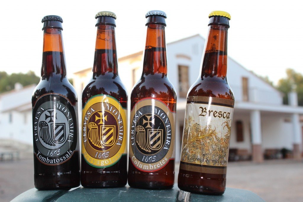 cervezas Montmira elaboradas artesanalmente en Alcora