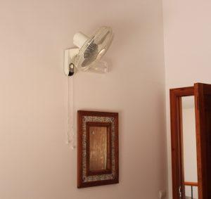 ventilador en cada habitación